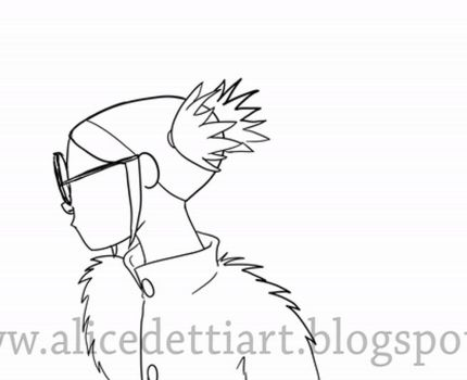 2D Acting Rough Pencil test_Noodle_Alice Detti by Pulce90