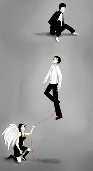 Red String of Fate by A-chana