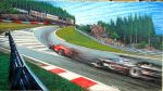 Eau Rouge - Mika vs Schumi by machoart