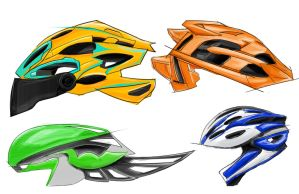Bike Helmets Page 1 by all-one-line