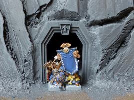 Dwarf Mountain Doorway by o0Tasker0o
