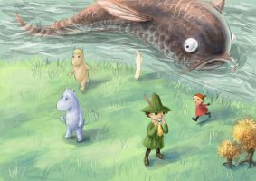 Moomin - characters by fabienmater