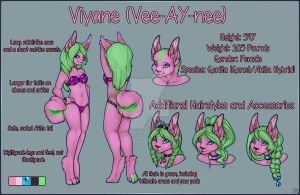 Viyane Reference Sheet- 2013 by Candy-Akita