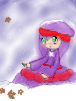 Winter Iris by Patchouli-Rolling