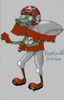football zombie by 00nels