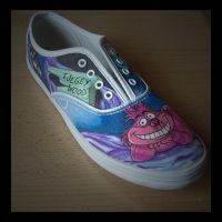 Cheshire Cat Shoe by StaticSkies