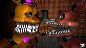 [SFM FNAF] NFoxy is in trouble by PopGi