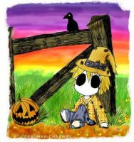 baby scarecrow by accidentlyonpurpose