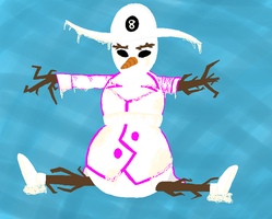 Homestuck - Snowman the Frosty by N1ght1ng4L3
