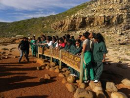 Students and Cape of Good Hope by RiverKpocc