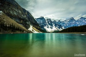 Lake Moraine by CasualImages