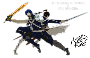 SMT x FE - Lord Chrom vs Samurai Flynn by Hanimetion