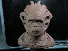 Update on evo-chimp by barbelith2000ad