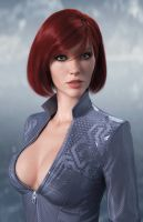 Bust by cheremisin3d