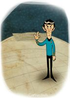 Spock say cheese. by CaptainChants