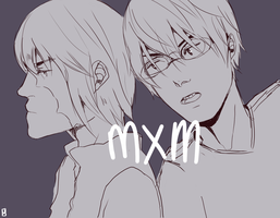 Deathnote: mxm by DecemberComes