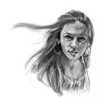 Drawing a Pencil-Like Sketch in Mypaint PDF File by Lady-Dragonrose