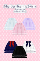 Sherbet Marine Skirt [ DOWNLOAD ] by Aia-Aria