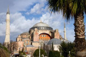 Istanbul Haghia Sophia with a by lhauert