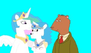 Ratburn, Celestia, and Persephone by hmcvirgo92