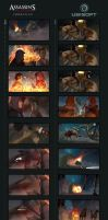 Assassin's Creed III: Liberation Boards_01 by drazebot