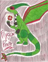 Flygon Pirate by FlygonPirate
