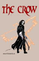 Brandon Lee as The Crow by Dan-DeMille