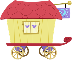 Trixie's Carriage by Vectorshy