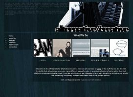 alternative creative layout by synt1kal