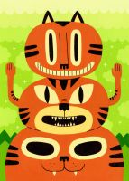 Totem Cat by Teagle