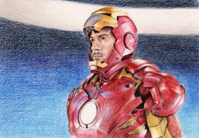 Iron Man by bloofeesh