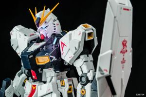 The Nu-Type Gundam by xIGetUm