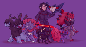 Lord Kylo Ren challenges you to a BATTLE by Our-Celestial-Death