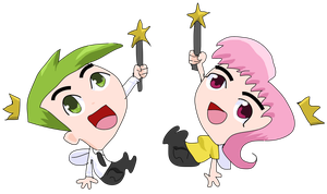 Favorite Characters and Pairings: Cosmo and Wanda by Chibifangirl01