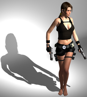 Lara Underworld outfit by Lastonedown