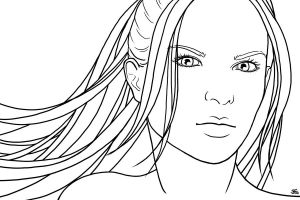 S1 - Alice Jones, lineart by DianaHold