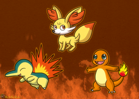 My Favorite Fire Starters by MeckelFoxStudio