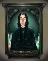 Snape's Portrait by camil