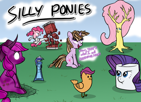 These Are Not Ponies by KYMSnowman