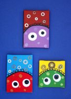 Three little Canvases by numb-synapse