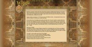 Wiggle Website Draft Idea by Garsondee