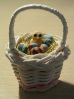 Easter basket fimo by bimbalove81