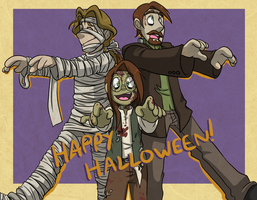 Chameleon Charm: Happy Halloween! by forte-girl7