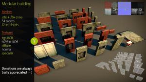 Free Modular Building asset by Nobiax