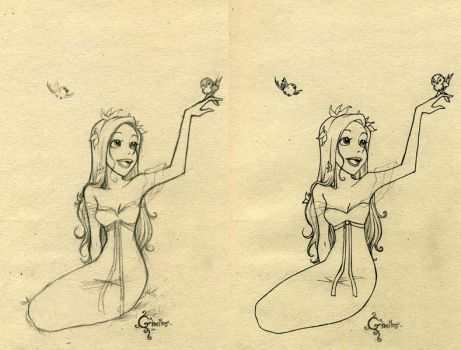 Giselle sketch by frodon