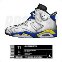 Air Jordan 6 'Laney' by BBoyKai91