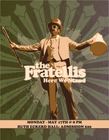 The Fratellis Concert Mock Up by DanBackslide7