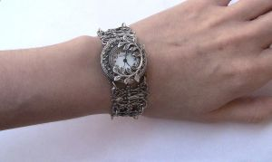 Gothic Silver watch 2 by Aranwen