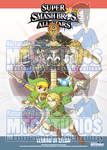 Super Smash Bros poster 3 - Legend of Zelda PREV by MTC-Studio