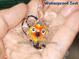 Clay charm water proof testing by emmil